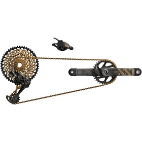 SRAM XX1 Eagle Shifting Groupset 1x12 DUB 34Z. 175mm gold